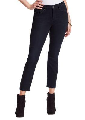 Jessica Simpson Womens Arrow Straight Ankle Jeans