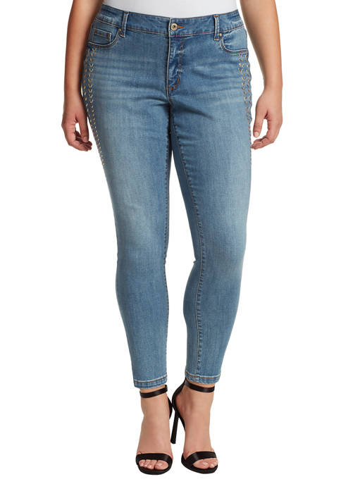 Curvy Kiss Me Super Skinny Jeans