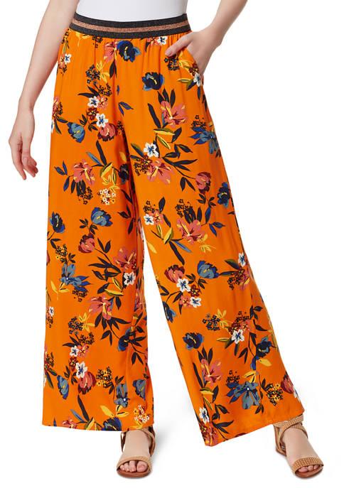 Jessica Simpson Shani Floral Challis Pants