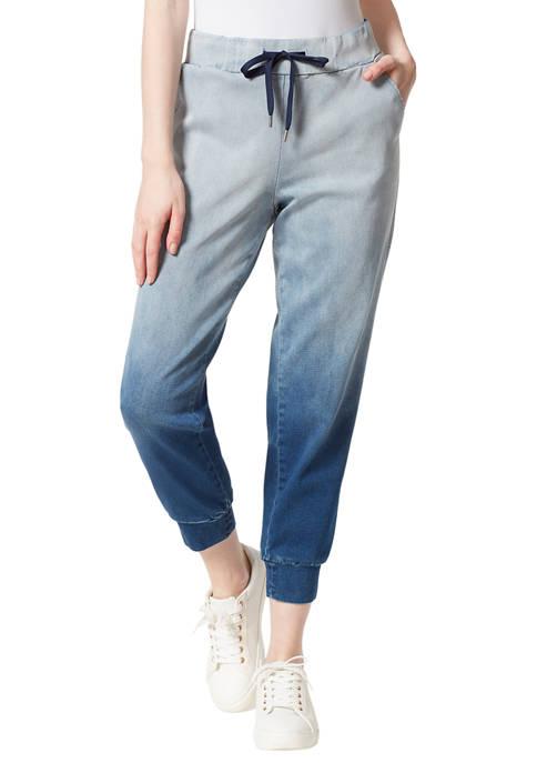 Jessica Simpson Soft Knit Denim Joggers