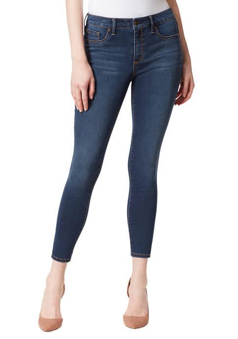 Knit Skinny Ankle Jeans