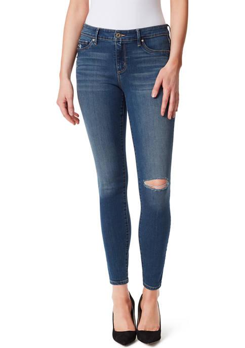 Jessica Simpson Kiss Me Mid-Rise Skinny Jeans