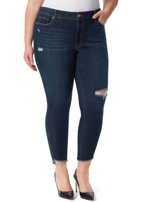 Jessica Simpson Curvy Adored High-Rise Skinny Jeans
