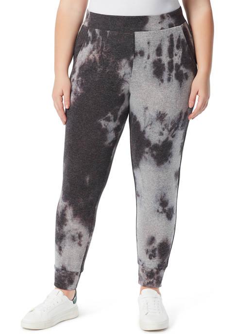 Jessica Simpson Plus Size Riya Tie Dye Pants