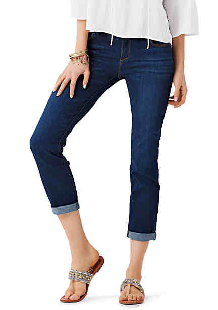 Jessica Simpson Forever Rolled Skinny Jean ...