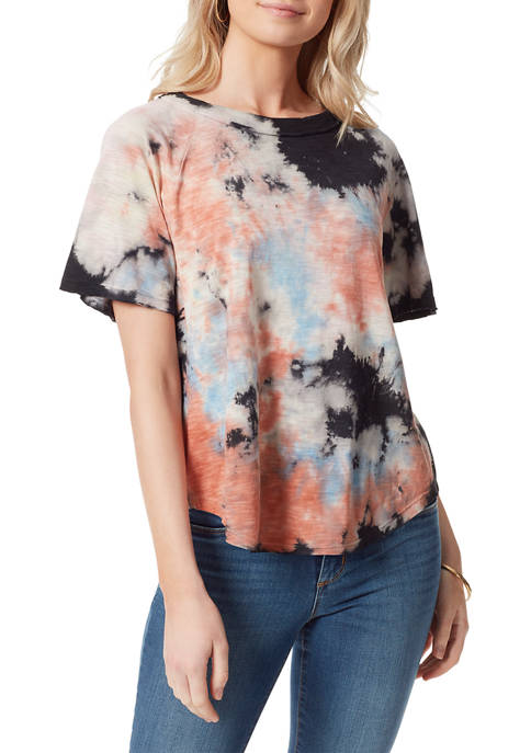 Jessica Simpson Short Sleeve Tie Dye T-Shirt