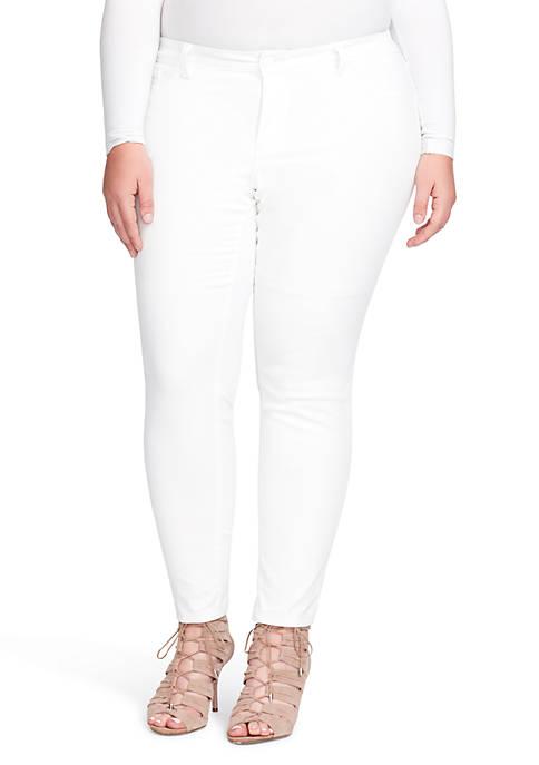 Jessica Simpson White Skinny Jean