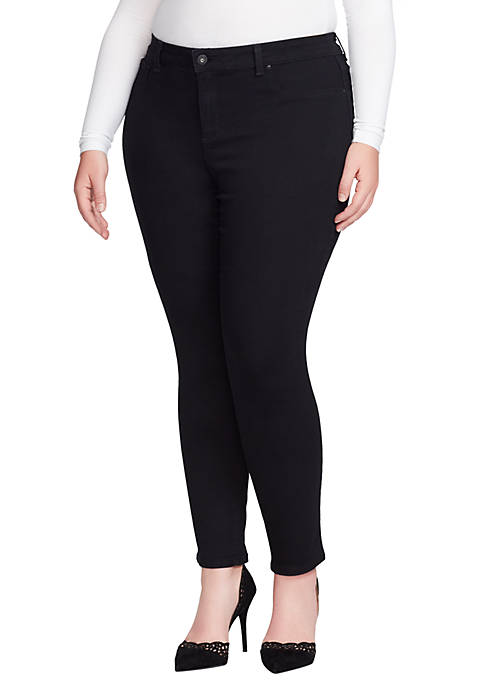 Jessica Simpson Plus Size Low-Rise Skinny Jean