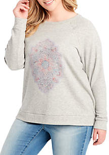 Plus Size Kelara Graphic Sweatshirt
