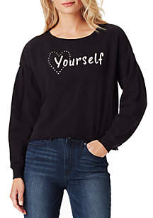 Dasha Love Yourself Sweatshirt