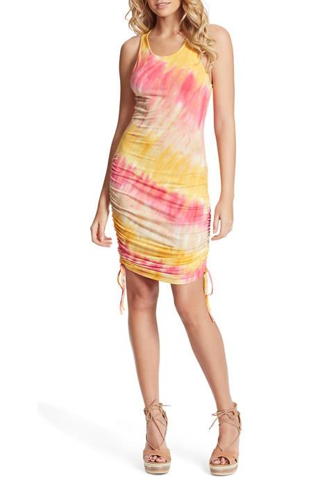 Jessica Simpson Sleeveless Tie Dye Racerback Dress