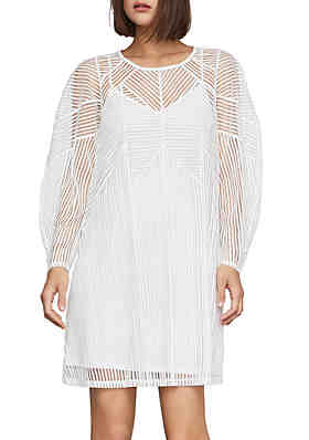 8c1a796778d BCBGMAXAZRIA Long Sleeve Shift Dress ...