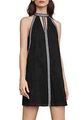 efe5ee26d9850e BCBGMAXAZRIA Short Woven Cocktail Dress ...