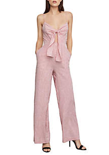ed5c822a3 BCBGeneration Sleeveless Woven Day Dress · BCBGMAXAZRIA Tie Front Woven  Jumpsuit