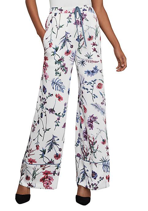 BCBGMAXAZRIA Wildflowers Soft Pants