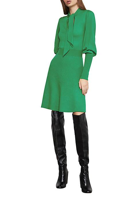 BCBGMAXAZRIA Juliette Sleeve Sweater Dress