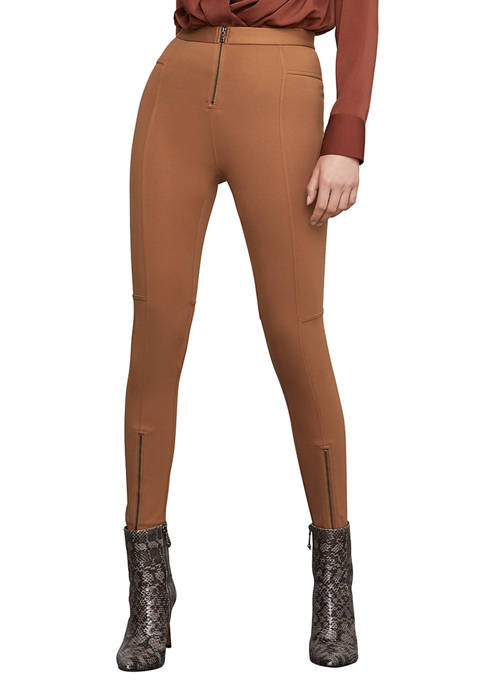 BCBGMAXAZRIA Basic Leggings with Zippers