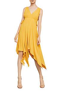 Sleeveless Handkerchief Dress