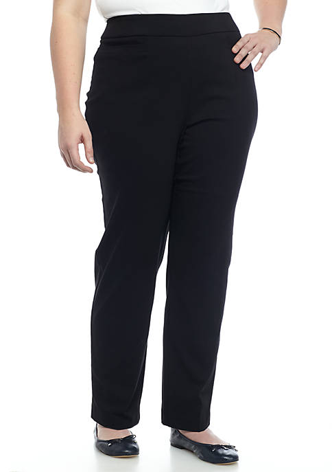 Alfred Dunner Plus Classic Allure Pant Short