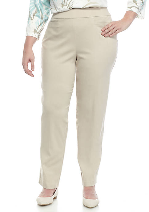 Alfred Dunner Plus Size Classic Allure Pants