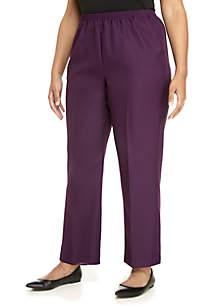 Plus Size Classic Short Pants