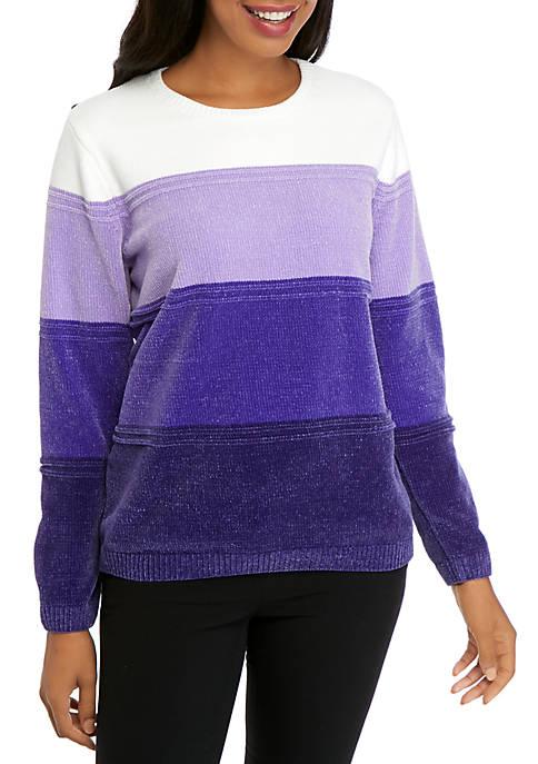 Classic Ombre Chenille Sweater
