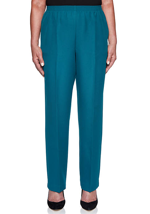 Alfred Dunner Petite Classics Proportioned Pants