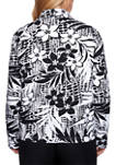 Womens Classics Tropical Printed Jacket