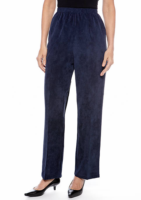 Alfred Dunner Classic Corduroy Pant