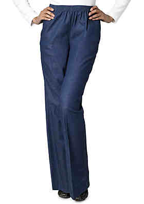 cdef13200e3 Alfred Dunner Classic Pull-on Denim Pant ...
