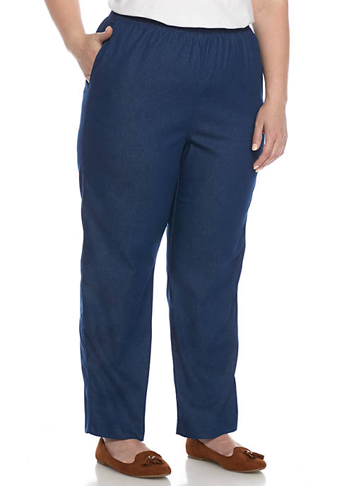 Alfred Dunner Plus Size Classic Proportioned Short Pant