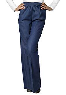 Petite Classic Pull-on Denim Pant (Short & Average Inseam)