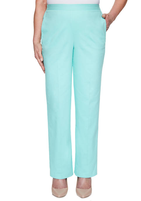 Alfred Dunner Womens Spring Lake Proportioned Short Pants