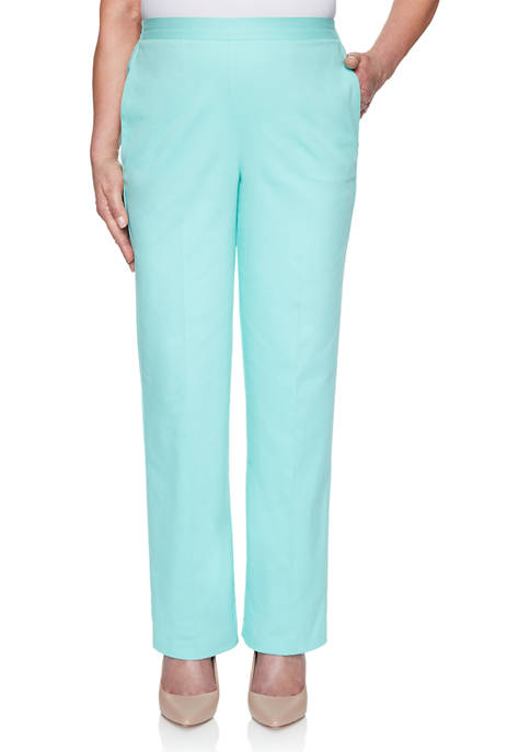 Alfred Dunner Plus Size Spring Lake Proportioned Short
