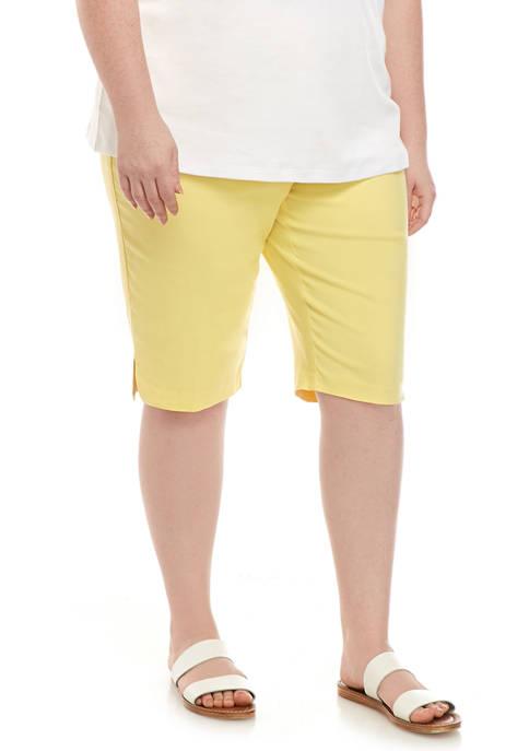 Plus Size Spring Lake Shorts