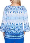 Womens Laguna Beach Batik Biadere Top
