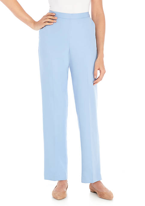 Alfred Dunner Petite Daydreamer Medium Pants