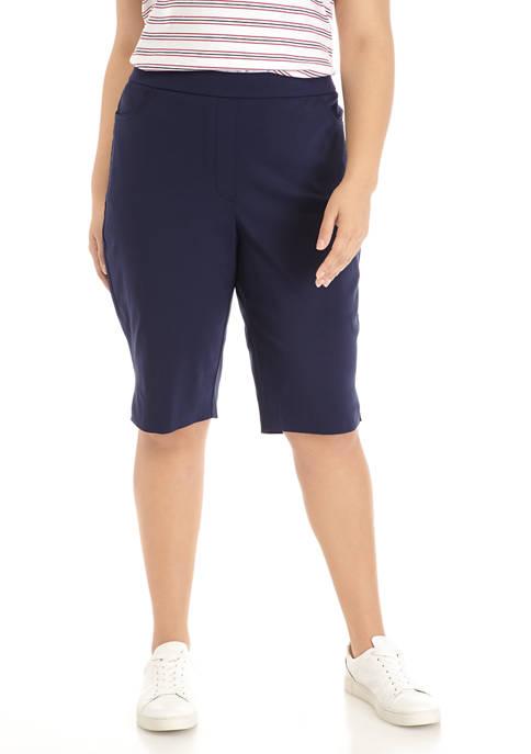 Plus Size Allure Bermuda Shorts