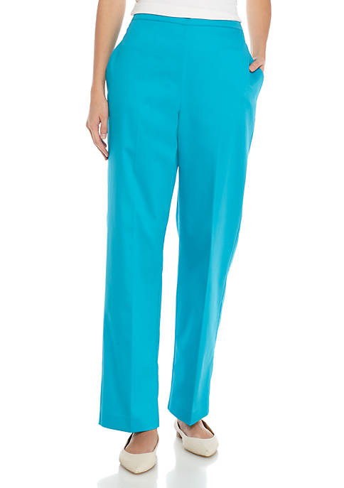 Alfred Dunner Scottsdale Proportion Medium Pants