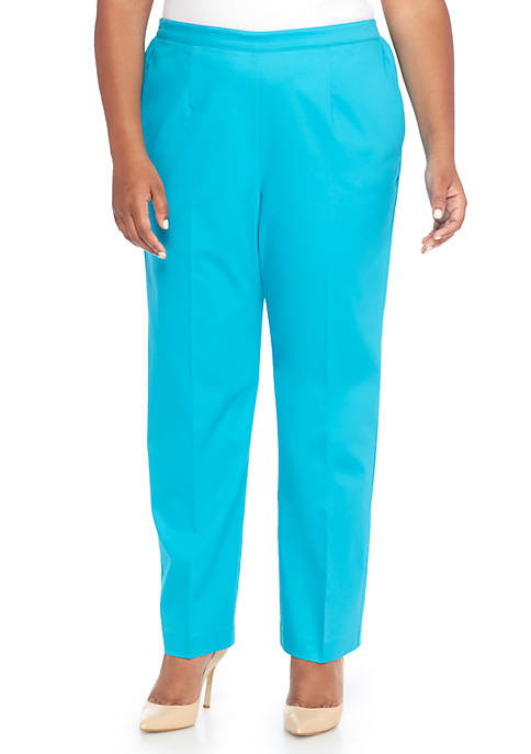 Alfred Dunner Plus Size Scottsdale Pants