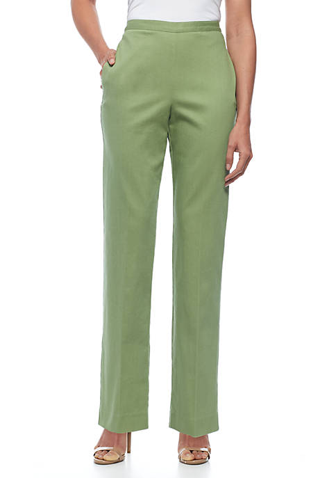 Alfred Dunner Parrot Cay Pants