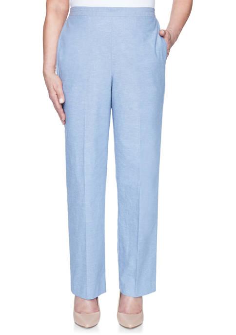 Alfred Dunner Petite Bella Vista Proportioned Short Pants