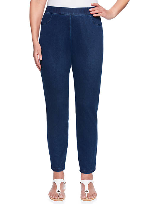 Alfred Dunner Petite Jegging