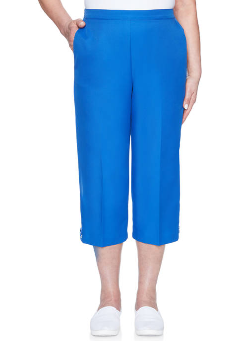 Alfred Dunner Womens Look On The Brightside Grommet