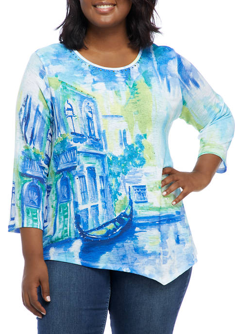 Alfred Dunner Plus Size Look On The Brightside