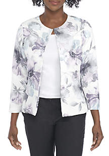 Watercolor Floral Jacket