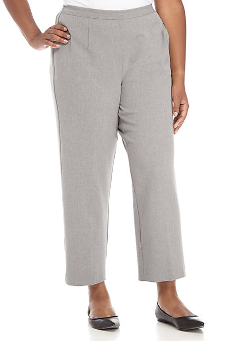Alfred Dunner Plus Size Proportioned Medium Pants