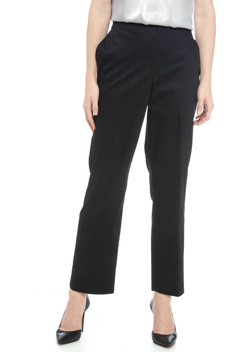 Alfred Dunner Womens Proportioned Short Pants