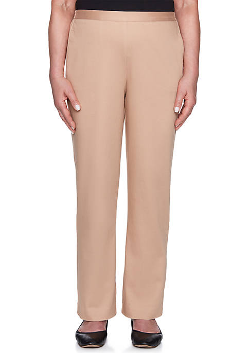 Alfred Dunner Proportioned Medium Pants