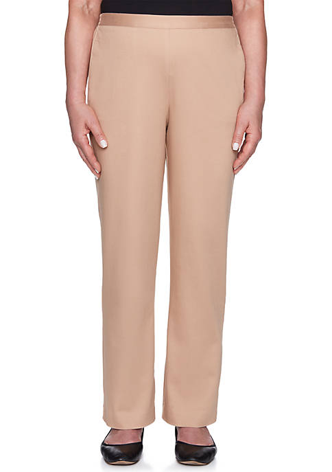 Alfred Dunner Petite Proportioned Medium Pants